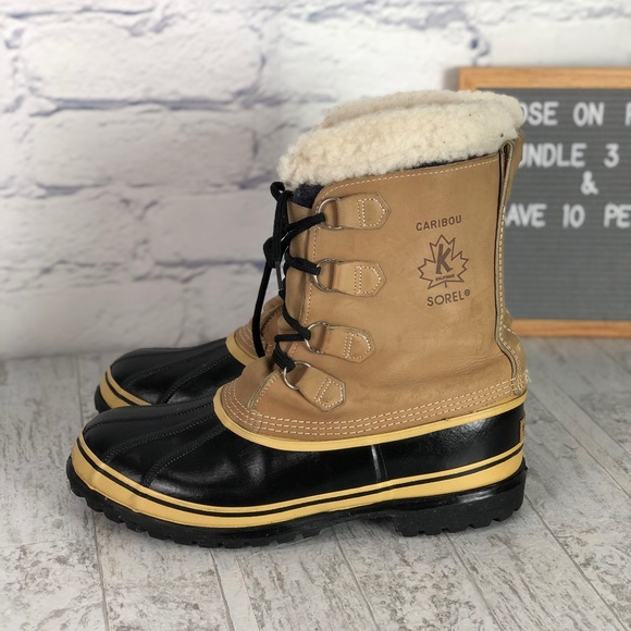 039f34c96 Sorel Shoes | Mens Caribou Tan Waterproof Winter Boot | Poshmark
